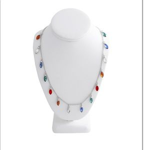 Way to Celebrate Holiday Lights Necklace